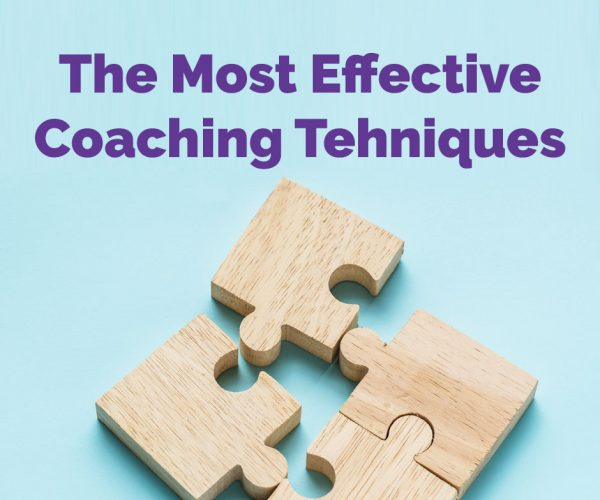 The Most Effective Coaching Tehniques